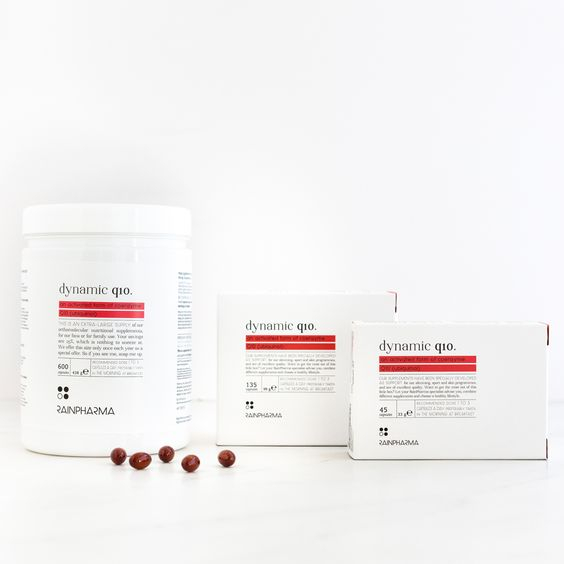 Rainpharma - dynamic q10 (135 tabletten)