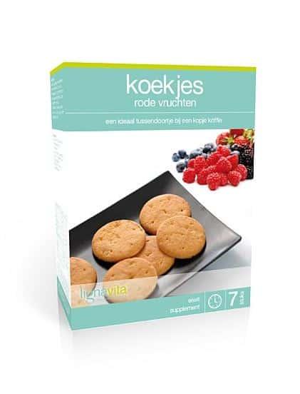 koekjes rode vruchten lignavita